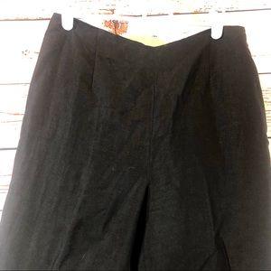 LOFT Pants - Ann Taylor LOFT Black & White Linen Dress Pants